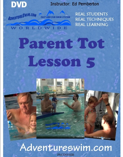 Parent Tot Lesson 5 - stable view from side of pool